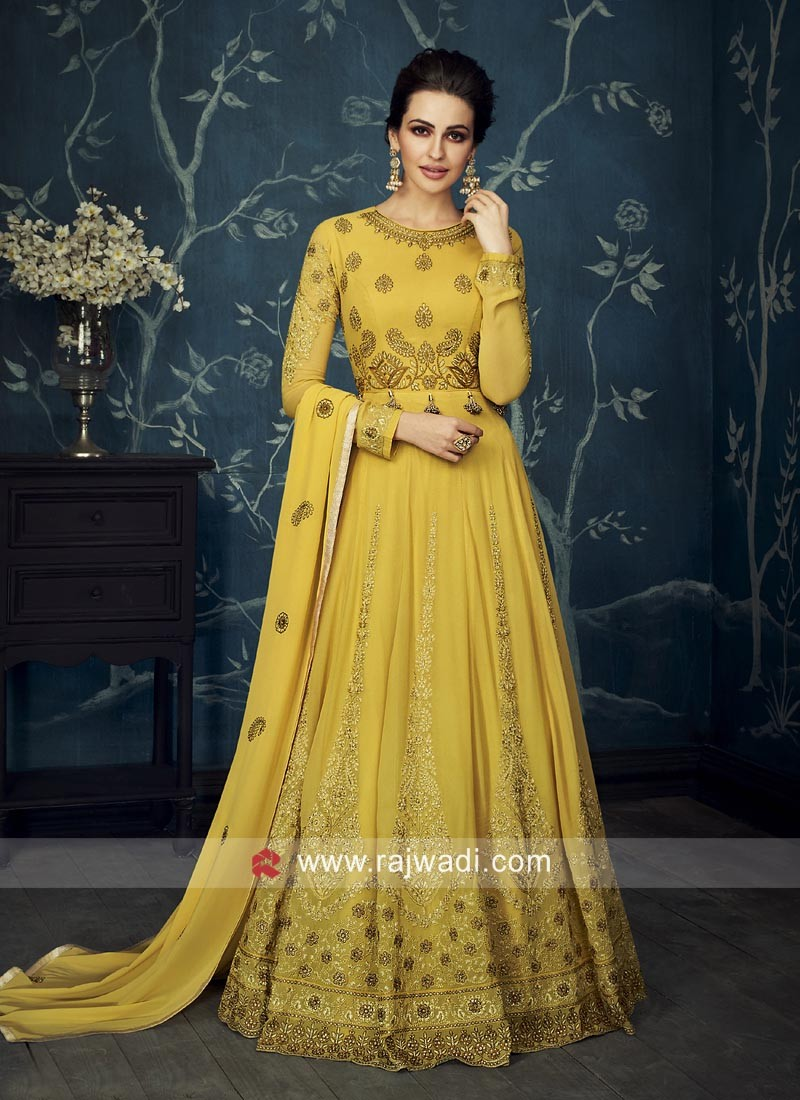 Heavy Anarkali Salwar Kameez for Wedding