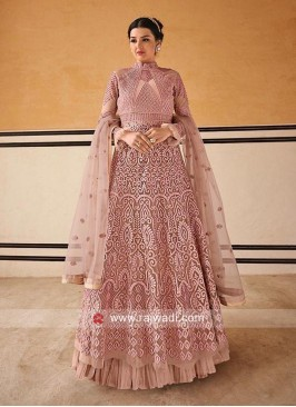 Heavy Anarkali Salwar Kameez for Eid