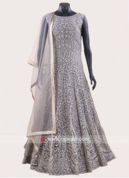 Heavy Embroidered Anarkali Dress