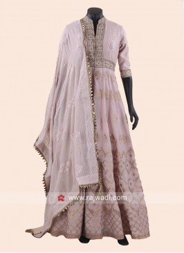 Heavy Embroidered Anarkali Suit for Eid
