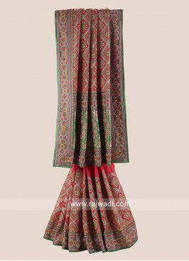 Heavy Embroidered Bridal Gharchola