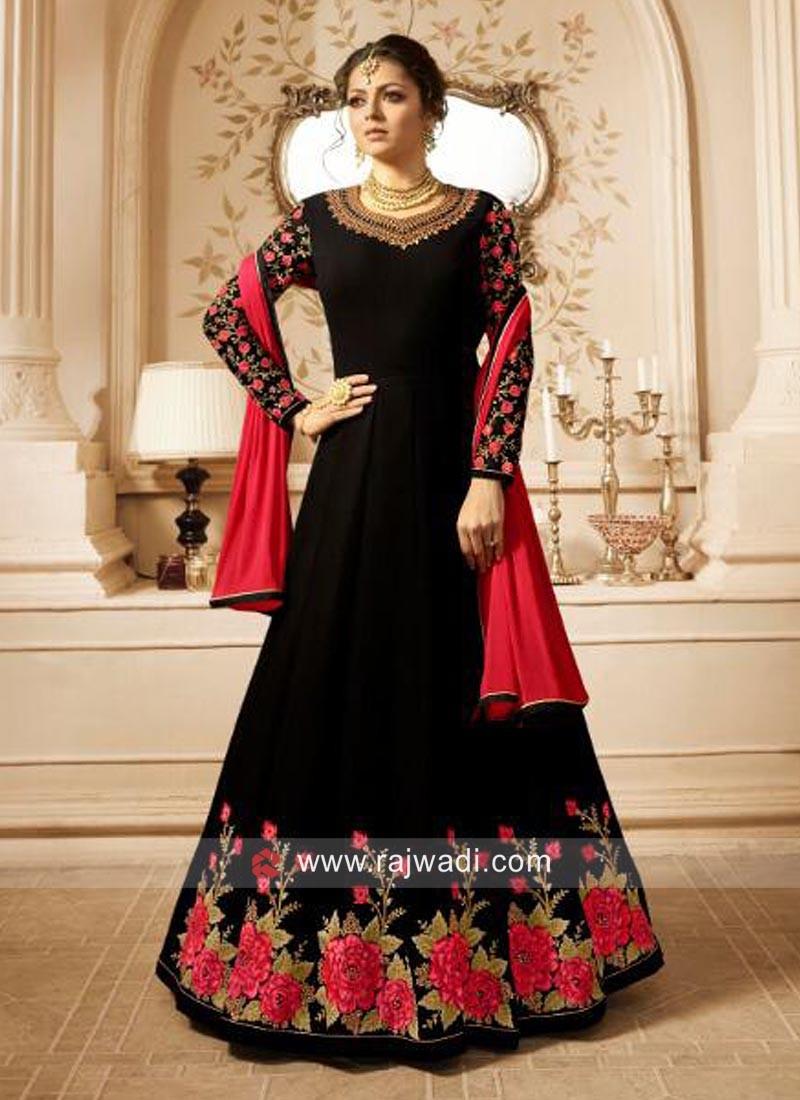 Heavy Embroidered Drashti Dhami Salwar Suit