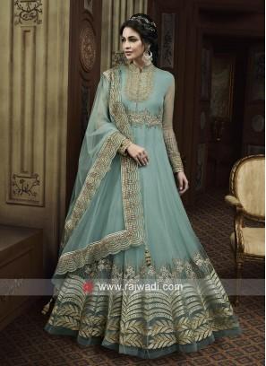 Heavy Embroidered Eid Anarkali Suit