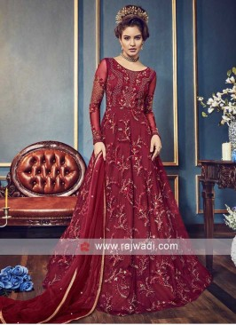 Heavy Embroidered Full Length Salwar Suit