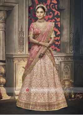 Heavy Embroidered Lehenga Choli