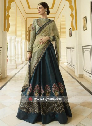 Heavy Embroidered Lehenga for Wedding