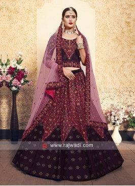 Heavy Embroidered Lehenga Set