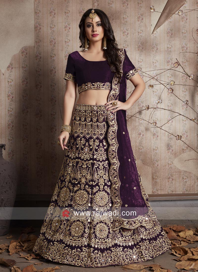 Heavy Embroidered Lehenga with Dupatta