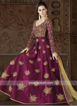 Heavy Embroidered Salwar Kameez with Dupatta