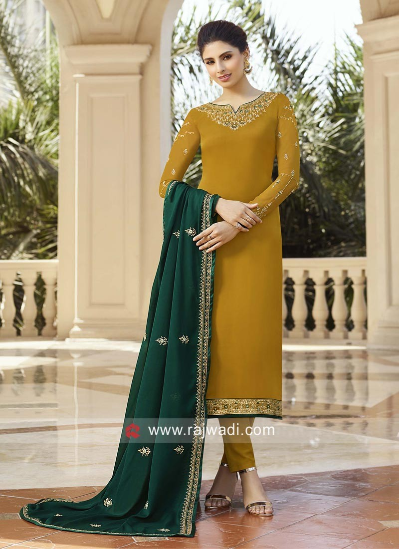 Heavy Embroidered Suit for Eid