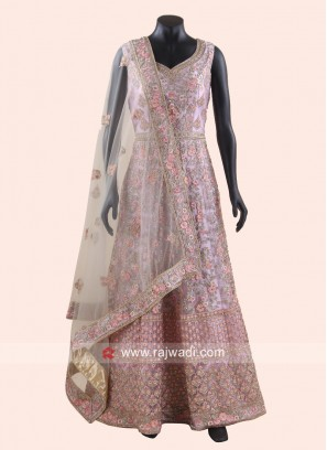 Heavy Embroidered Wedding Anarkali Suit