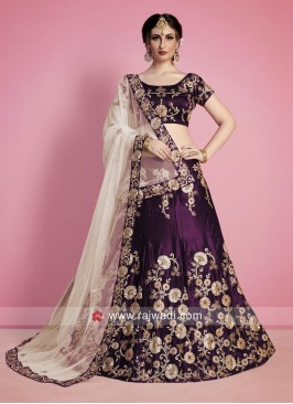 Heavy Embroidered Wedding Lehenga Choli