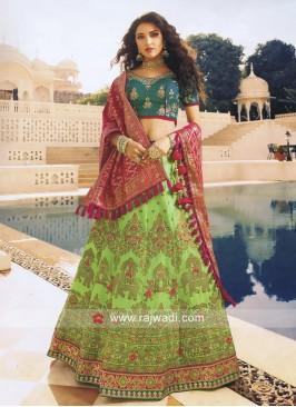 Heavy Embroidered Wedding Lehenga Choli