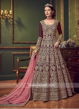 Heavy Embroidered Wedding Salwar Suit