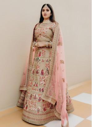 Heavy Embroidery Bride Lehenga Choli