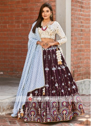 Heavy Embroidery Lehenga Choli