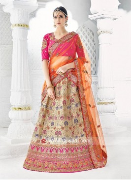 Heavy Lehenga Choli with Dupatta