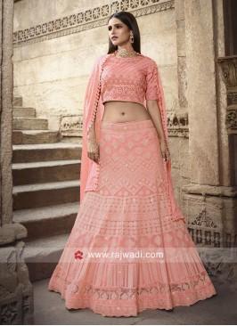 Heavy Lehenga in Pink