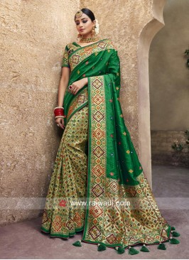 Heavy Work Banarasi Silk Saree