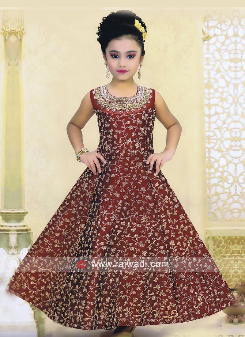 Heavy Work Salwar  Kameez for Girls