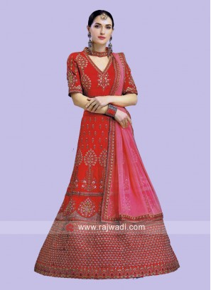 Heavy Work Lehenga Choli with Dupatta