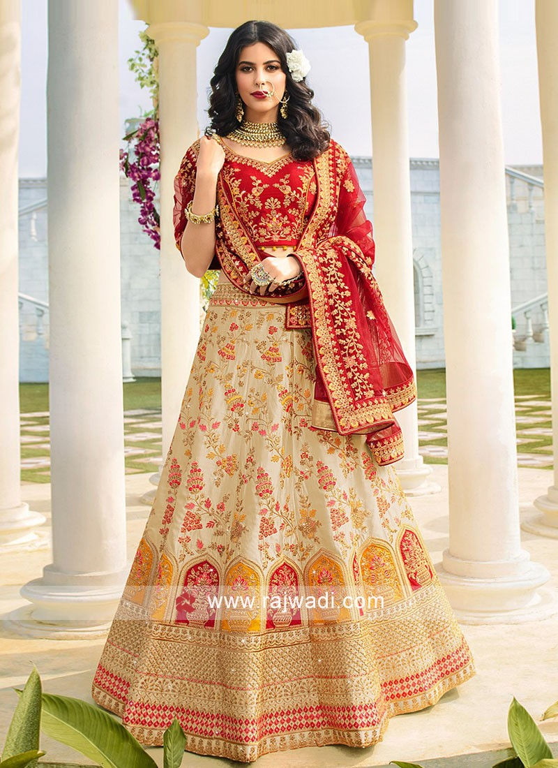 Heavy Work Lehenga Set with Dupatta