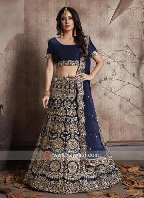 Heavy Work Bridal Lehenga Set