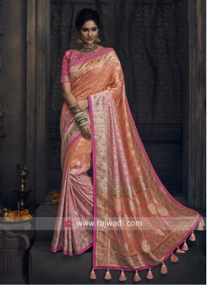 Heavy Work Wedding Saree