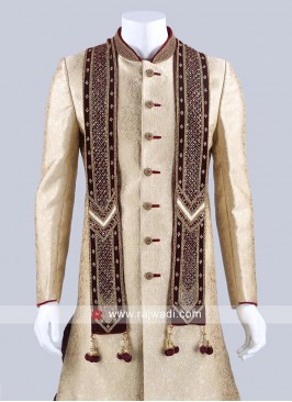 Heavy Zardozi and Stone Work Dupatta
