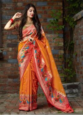 Ideal Weaving Silk Saree