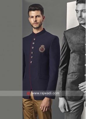 Imported Blue Jodhpuri Set