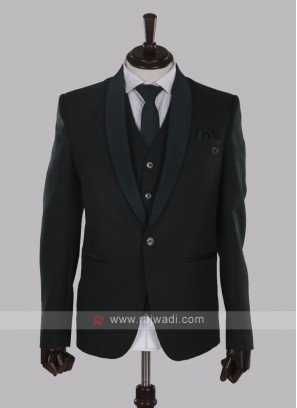 Imported fabric green suit