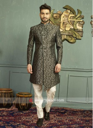 Imported Fabric Indo Western For Wedding