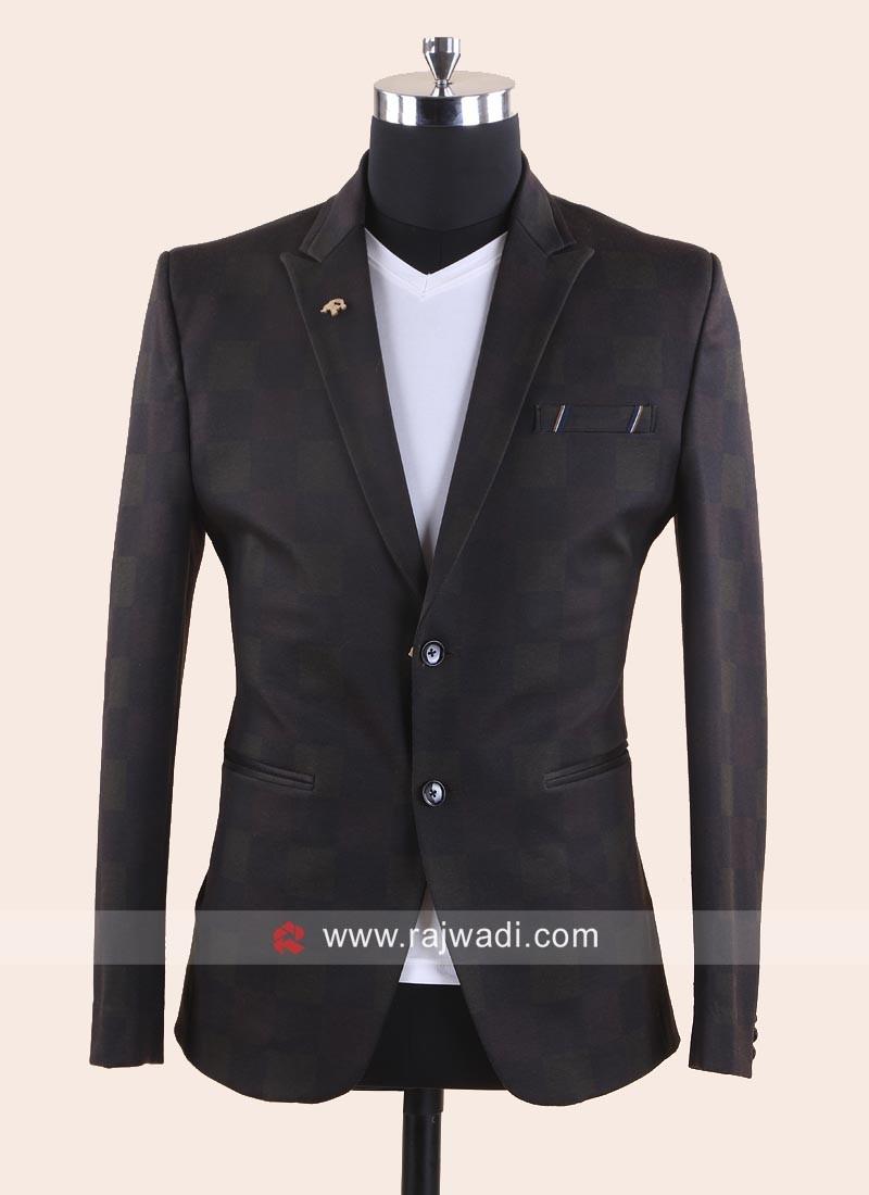 Imported Fabric Party Wear Blazer