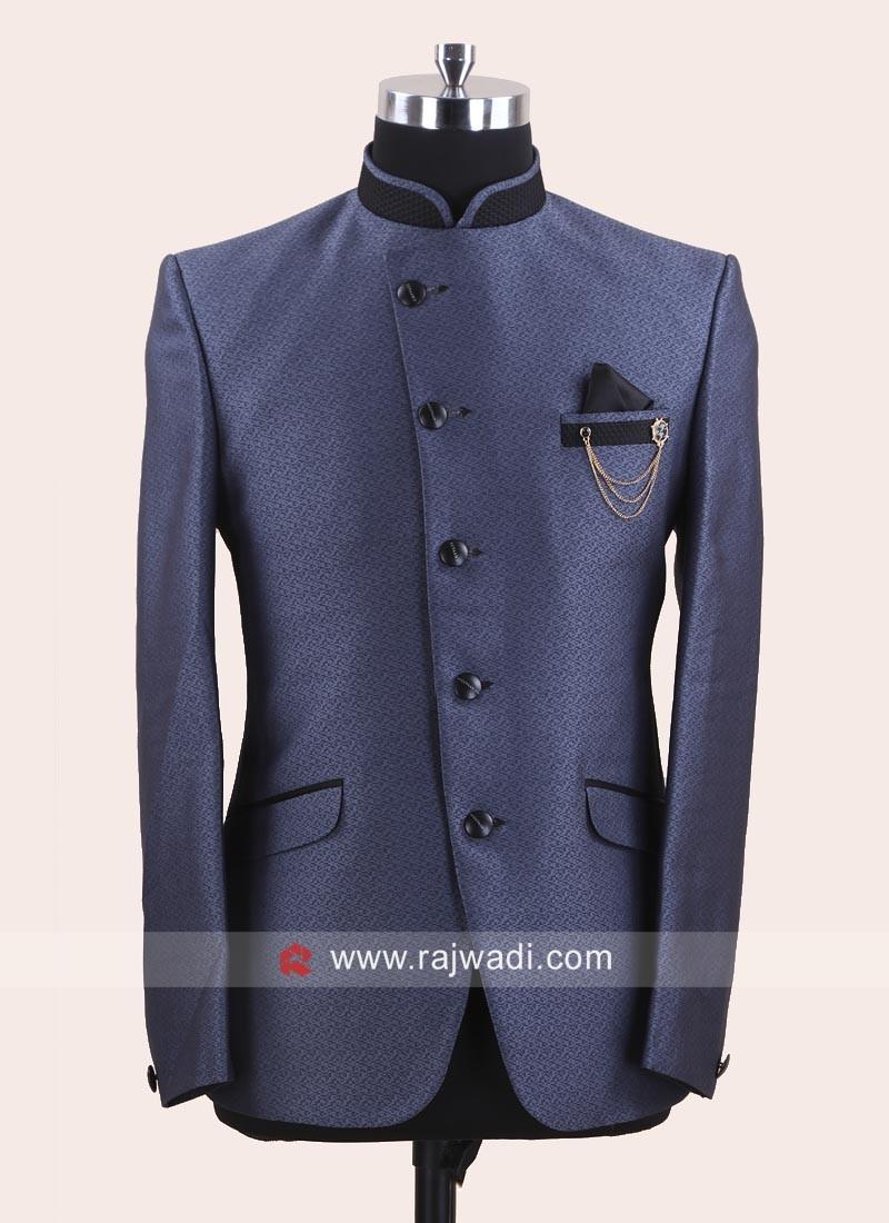 Imported Fabric Party Wear Jodhpuri Suit