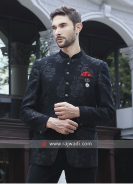 Imported Black jodhpuri Set