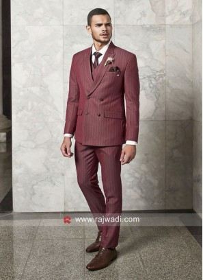 Imported Light Coral Color Suit