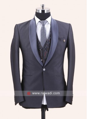 Imported Light Grey Suit