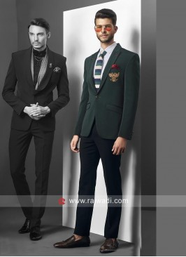 Imported Green Suit For Party