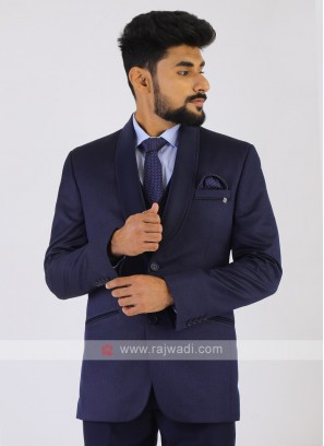 Imported Navy Party Wear Suit