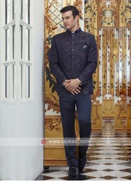 Imported Purple Jodhpuri Suit