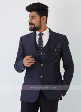 Imported Royal Blue Suit