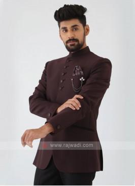 Imported Silk Jodhpuri Suit