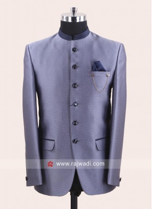 Imported Slate Grey jodhpuri Set