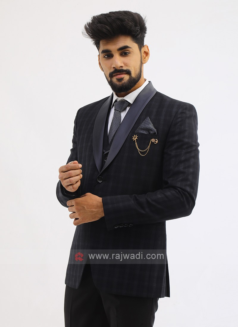 Imported Suit In Black