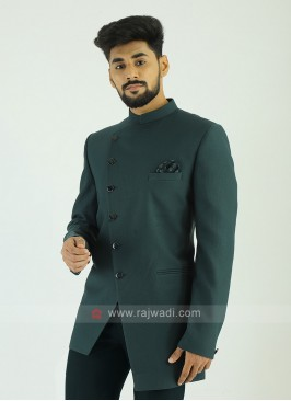Imported Green Jodhpuri Suit