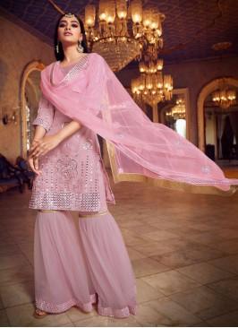 Imposing Net Thread Designer Pakistani Suit