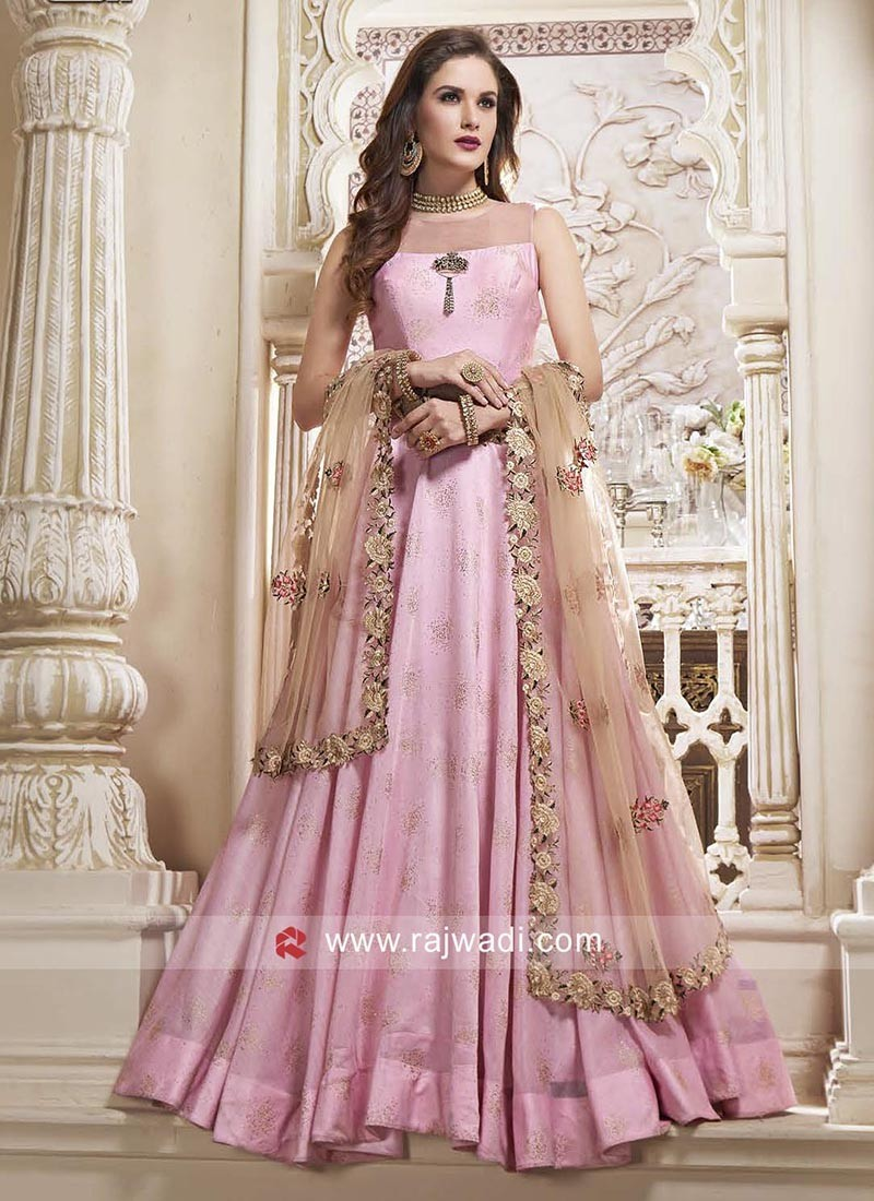 68e6ae1758 Indian Designer Anarkali Dress with Price. Hover to zoom