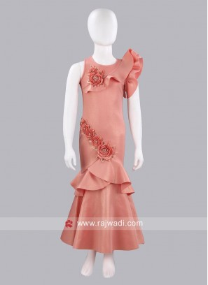 Indian Designer Party Wear Girls Gown