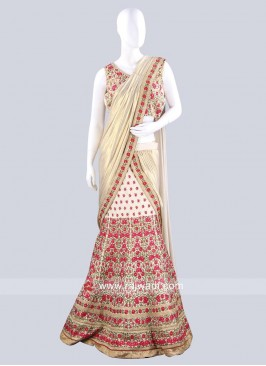 Indian Wedding Lehenga Saree